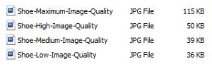 Image-Quality-File-Sizes
