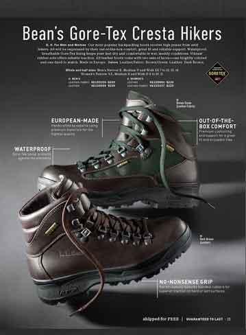 LLBean-Cresta-Hiking-Boots-Calalog