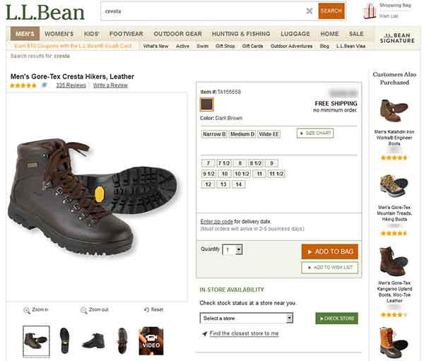 LLBean-Cresta-Hiking-Boots-Online