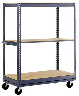 Tall-Two-Shelf-Cart-On-Wheels