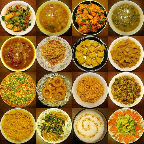 Variety-of-Cooked-Food