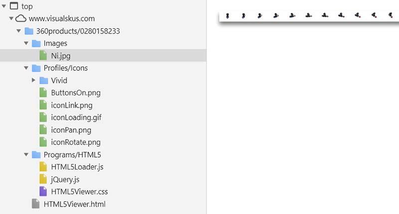 360 image folder structure